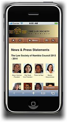 Law Society Mobile Site